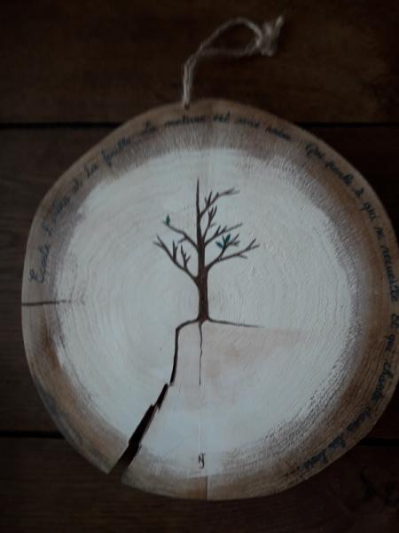 DéCO, DESIGN TRONC ARBRE NATURE DEFORESTATION POESIE Abstrait  - l'âme des arbres II