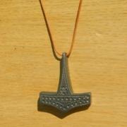 bijoux autres thor marteau gris collier : marteau de Thor