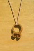 bijoux autres noyer viking amulette : troll cross