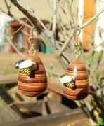 bijoux autres plaquage abeille ruche : Ruche