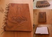 bois marqueterie autres couvrelivre bois viking aude : Couvre-livre v