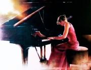 tableau autres pianiste concert musique virtuose : Katia Skanavi