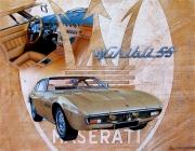 tableau autres ghibli voiture collection maserati : Maserati la ghibli