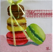 tableau autres macaron dessert gateau rond : Macarons gourmands