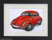 dessin autres voiture collection coccinelle volkswagen : VW Coccinelle 1968