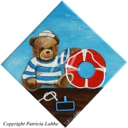 tableau autres ours marin mer chambre : Petit ours marin