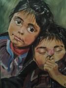 tableau personnages enfants soeur : les soeurs