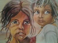 les enfants de l'Inde