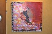 tableau personnages peinture toile acrylique art : PIOU Réf. AK150316