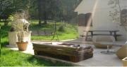 deco design autres canape bois design ecologique : Canapé méridienne