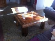 deco design nature morte table bois design chene : table basse