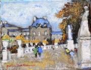 tableau paysages jardin du luxembourg le senat paris6 : le Sénat Luxembourg