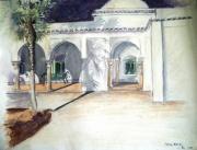 autres architecture soir lumiere alger villa : Un soir d'été à la Villa Abd Eltif I