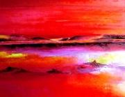 tableau paysages paysage fauvisme expressionnisme futurisme : REDEARTH