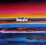 tableau marine marine paysages expressionisme fauvisme : NEW WORLD