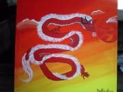 tableau autres dragon feerique fantastique fantasy : dragon