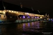 photo architecture strasbourg alsace nuit lumiere : strasbourg by night