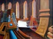 tableau scene de genre mort gothique porte grandiose : Le passage