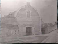 L'ancienne mairie de verson aux années 1830