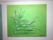 tableau autres zen couleur deco cadeaux : zen 1