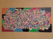 tableau abstrait dessin tableau couleurs : doc coeur
