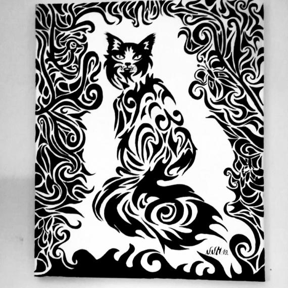 TABLEAU PEINTURE Dessin Cadeau Peinture Couleurs Animaux Peinture a l'huile  - Vanmeenen veronique