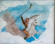 tableau autres peinture couleurs souvenir animaux : POUR MAMAN
