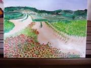 tableau paysages cadeaux couleur dess peinture dessin tabl cadeaux dessin : coquerico