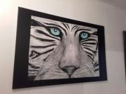 tableau deco peinture veronique cadeaux : tigre
