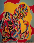 tableau personnages couleur peinture johnny hallyday chan dessin tableau peinture : Vivre pour le meilleur