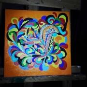 tableau cadeaux couleur dess ecureuil banque : Écureuil