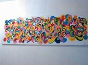 tableau abstrait couleurs cadeaux peintures decoration : COLLECTION MYSTÈRE