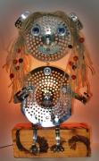 deco design personnages lampe personnage deco recyclage : PETITE FILLE LAMPE