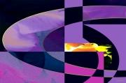 art numerique abstrait asbtraction abstrait creation numerique : Abstraite perspective 3
