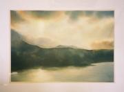 tableau paysages lumiere coucher de soleil ecosse paysage : Lumières