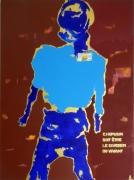 tableau abstrait humain abstrait abstraction marseille : L'humain doit être le gardien du vivant 2