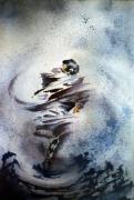 tableau aquarelle danse da : Danseur
