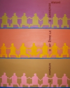 tableau abstrait asbtraction abstrait vivant humain : L'humain doit être le gardien du vivant