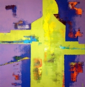 tableau abstrait abstraction abstrait humain expression : Le Maillon
