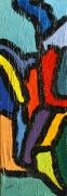 tableau abstrait acrylique sur toile art abstrait acrylique sur toile : Cellules