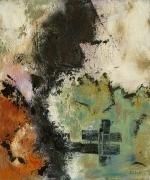 tableau acrylique sur toile art abstrait peinture contemporai artiste peintre gren : BZ 222