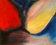 tableau abstrait acrylique sur toile art abstrait peinture contemporai : Sacré Gustave