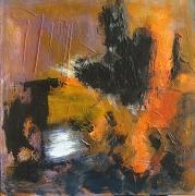 tableau abstrait acrylique sur toile art abstrait peinture contemporai : Armagnac