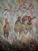 tableau : les quatre cavaliers