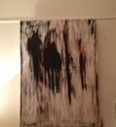 tableau abstrait : Les ombres