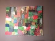 tableau abstrait : Puzzle