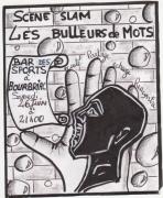 tableau : Flyer Scéne Slam à Bourbriac