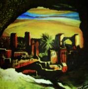 tableau : Paysage marocain(vendue)