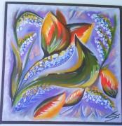 tableau : flowers