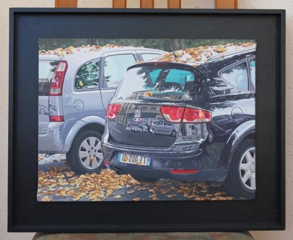 TABLEAU PEINTURE Paysages Acrylique  - automne